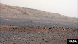 Поверхность Марса. Снимок Curiosity.