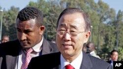 Secretário-geral da ONU esteve em Adis-Abeba para assistir a 18ª cimeira da União Africana