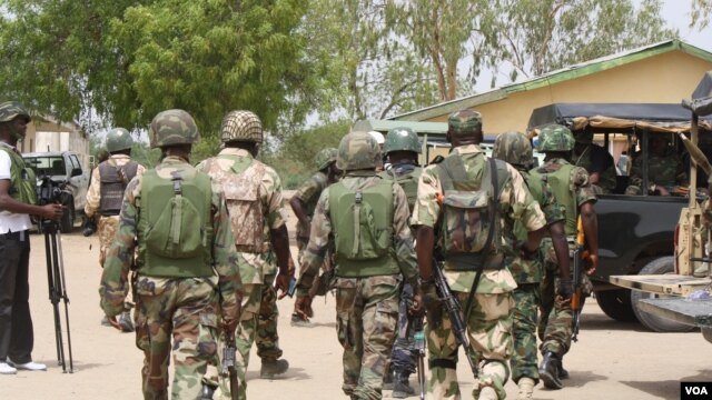 While the committee calls for peace talks, Nigerian security forces say they will destroy any area they believe to be a Boko Haram camp. (Heather Murdock/VOA).