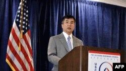 骆家辉在美中贸易全国委员会企业主管研讨会上