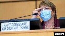 Komisaris tinggi PBB untuk hak asasi manusia (HAM), Michelle Bachelet