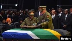 Former South African President Mandela Laid to Rest