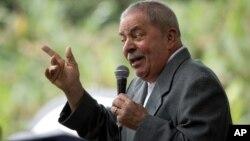 El entonces presidente Luiz Inácio Lula da Silva salió indemne del escándalo pero su inocencia podría ser otra vez puesta a prueba.