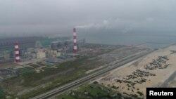 Nhà máy thép Formosa tại Hà Tĩnh.