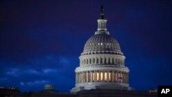 Le Capitole abrite le Congrès, le pouvoir législatif des États-Unis, 4 avril 2017.