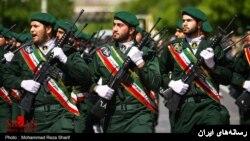 آرشیف: نیروهای سپاه پاسداران انقلاب اسلامی ایران