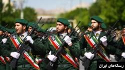 رژه نیروهای سپاه پاسداران انقلاب اسلامی ایران - آرشیو