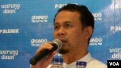 Anggota DPR RI dari PKS Mahfudz Siddiq (VOA/Iris Gera)