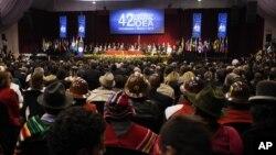 Ceremonia de apertura de la 42a. Asamblea General de la OEA, en Cochabamba, Bolivia.
