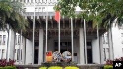 台湾外交部大门