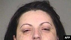 Fotografija Raseme Handanović kada je 2011. uhapšena u Oregonu u SAD pod optužbom da je bivša pripadnica Specijalne jedinice pri vojsci BiH, koja je izvršila ratne zločine 1993. godine (arhiva)