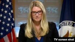 Juru bicara Departemen Luar Negeri AS, Marie Harf (foto: dok).
