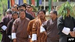 Negara Bhutan yang mengusulkan agar PBB memperingati 'Hari Kebahagiaan Internasional' (foto: ilustrasi warga Bhutan).