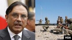 Presiden Pakistan Asif Ali Zardari mendapat sorotan karena hubungannya yang buruk dengan militer dan dugaan korupsi (foto: dok).