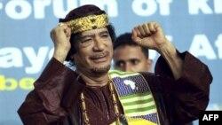 Antigo líder líbio Moammar Gadhafi