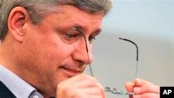"""PM Stephen Harper mengaku """"sangat prihatin"""" atas tuduhan-tuduhan bahwa Kanada melakukan spionase terhadap pejabat Brazil (foto: dok)."""