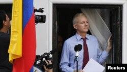El fundador de WikiLeaks, Julian Assange, se encuentra en la residencia en la embajada de Ecuador en Londres desde el 19 de junio.