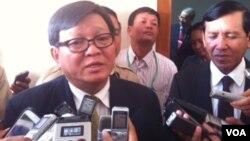 Son Chhay, ketua juru runding partai oposisi Kamboja, CNRP (foto: dok).