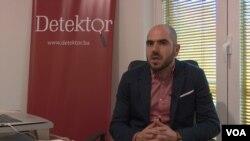 Denis Džidić, urednik Balkanske istraživačke mreže Bosne i Hercegovine (BIRN BiH)