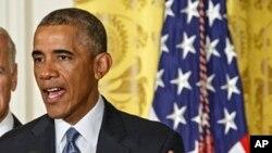 On ne saurait parler de guerre menée par les Etats-Unis contre l'EIIL, mais d'un combat mené « par le monde contre l'EIIL », a dit Barack Obama
