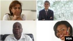 Alexandra Simeao, Nelson Bonavena, Makuta Nkondo, Rosa Roque