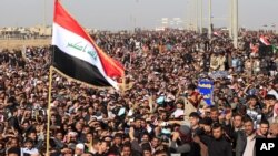 数万伊拉克逊尼派上街抗议什叶派政府