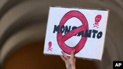 Demo menentang Monsanto di Portugal