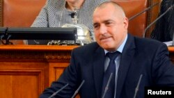 FILE - Tackling corruption and reforming the judiciary are among the pledges made by Prime Minister Boiko Borisov, who returned to power after a snap election in October.