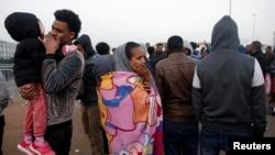 Para migran Afrika di Israel menghadapi ancaman deportasi (4/2).