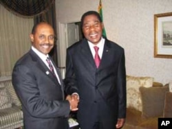 Mr. Yohannes and President of Benin Thomas Yayi Boni