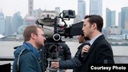 2012年拍攝荷里活電影《環形使者》(Looper)影片在中國獲得巨大成功(資料照)。