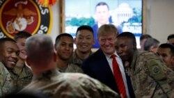 သမၼတ Trump အာဖဂန္ကို မေၾကညာဘဲ သြားေရာက္ခဲ့