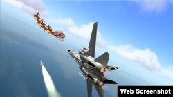 El programa NORAD sigue a Santa desde la base aérea Tyndall, estado de Colorado.