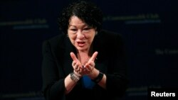 Sonia Sotomayor fue galardonada por ser una inspiración para las minorías en EE.UU., como los africanos y afro-estadounidenses.