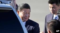 中国国家主席习近平星期二抵达华盛顿州,展开他对美国的首次国事访问