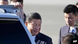 習近平星期二抵達華盛頓州,展開他對美國的首次國事訪問
