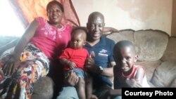 Tendai Ndemera and family