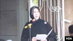 Wali Kota Banda Aceh, Illiza Saaduddin Djamal (Foto: VOA/Budi Nahaba).