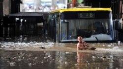 باران های سیل آسا در جنوب چین