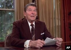 Prezident Ronald Reygan (1981-1989)