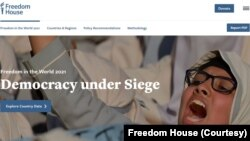 Freedom House Report 2021