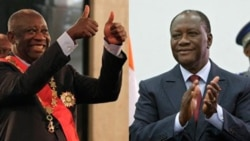 تحلیف همزمان دو رئیس جمهوری در ساحل عاج
