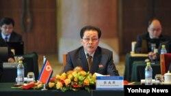 지난 2해 8월 장성택 북한 국방위 부위원장이 베이징에서 열린 황금평·위화도, 나선지구 공동개발을 위한 제3차 개발합작연합지도위원회 회의에 수석대표로 참석했다.