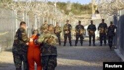 美軍關塔納摩灣拘留中心(資料圖片)