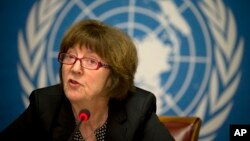 Kirsten Sandberg, presidente do Comité dos Direitos das Crianças da ONU