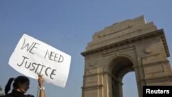 Protesti u Nju Delhiju