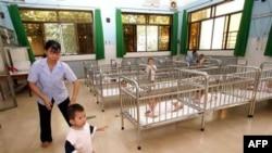 Trẻ em tại trại mồ côi Tam Bình 1 ở TPHCM, Việt Nam