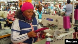At its peak, the clothing manufacturing industry employed 35,000 but now only boasts a small complement of 6,800 workers. (File Photo)