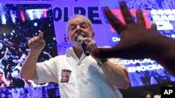 El expresidente Lula da Silva ganaría la primera ronda de votaciones, con 21 por ciento de los votos, de acuerdo a un sondeo.