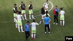 عکس آرشیوی از تمرین تیم ملی فوتبال ایران در اردوی تدارکاتی اتریش